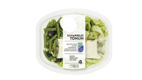 Albert Heijn roept maaltijdsalade met tonijn terug