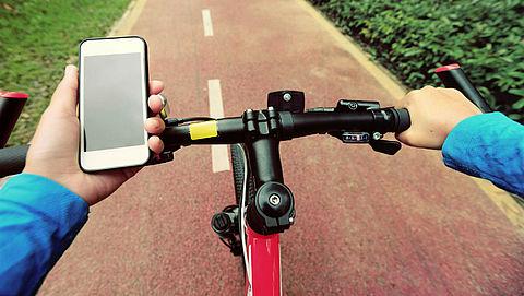 Appen op de fiets per juli 2019 verboden