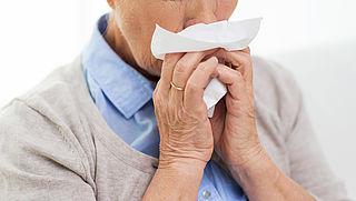 Aantal grieperige mensen neemt flink toe