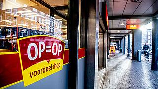 Doorstart voor winkels Op=Op Voordeelshop onzeker