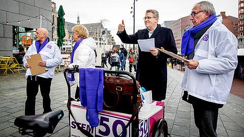 50PLUS verzamelt 5000 handtekeningen voor referendum 'aflosboete'