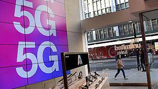 'Straling door snel mobiel internet 5G lijkt veilig'
