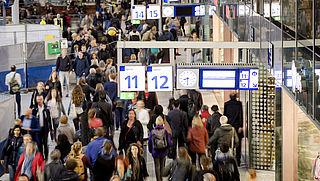 Korting voor treinreizen buiten het allerdrukste spitsuur