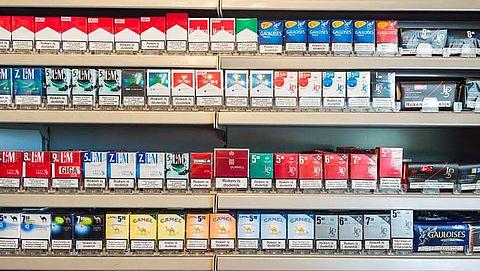 Verpakking sigaretten wordt minder aantrekkelijk }