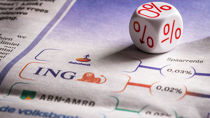 Banken spreken zich wisselend uit over mogelijke invoering negatieve spaarrente