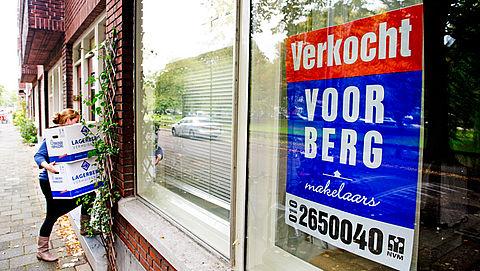 Woningverkoop daalt voor het eerst sinds 2013