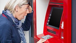 Storing bij geldautomaat: wat moet je doen?