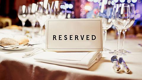 Aanbetaling bij restaurantreservering goed idee