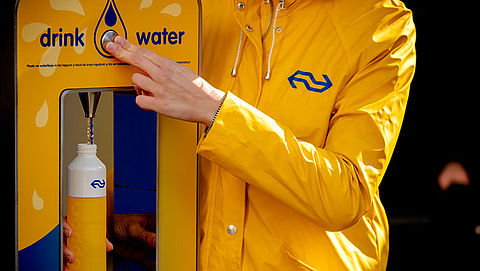 Gratis water op stations in Noord-Holland