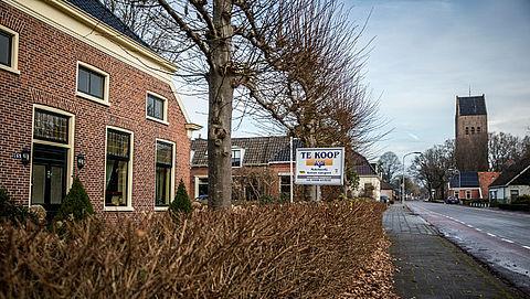 Opkoopregeling voor 50 huizen in aardbevingsgebied Groningen}