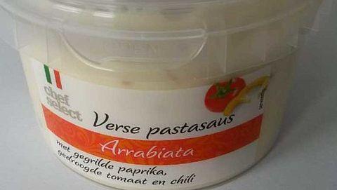 Waarschuwing voor pastasaus van Lidl