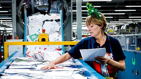 Drukte PostNL tijdens kerst en Sinterklaas hetzelfde