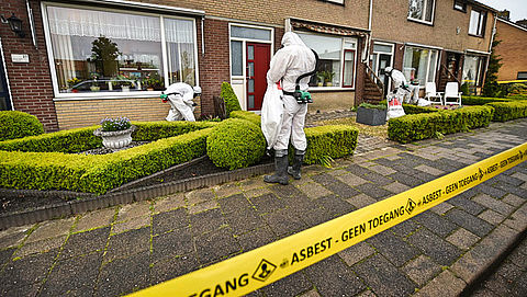'Risico's asbest minder schadelijk dan gedacht'}