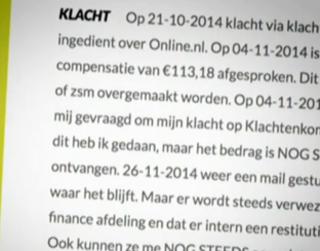 Online.nl belooft betere oplossingen