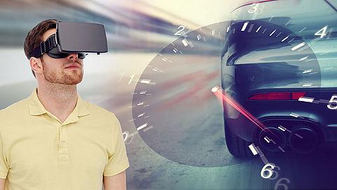 Proef verkeersles met virtual reality-bril