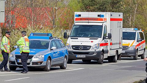 Duitse ambulances verlenen straks spoedhulp in Nederland