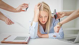 'Een op de zeven werknemers bang om op korte termijn overspannen te raken'