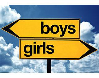 Jongens en meisjes gescheiden in de klas