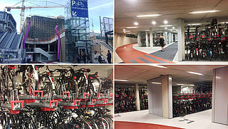 Utrecht opent grootste fietsenstalling van Nederland