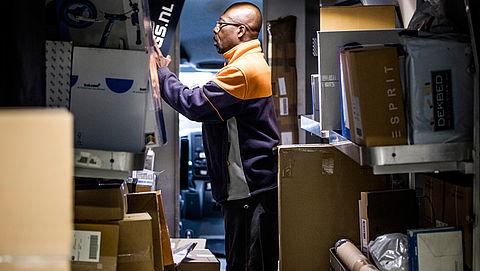 Vijftigduizend pakketjes PostNL te laat