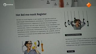 Bel-me-nooit Register