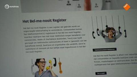 Bel-me-nooit Register
