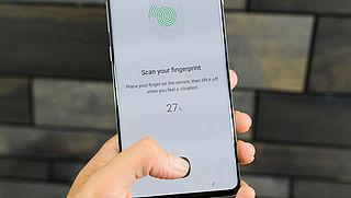 Samsung: Verwijder digitale vingerafdruk