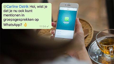 Hoe werkt taggen in WhatsAppgroepsgesprekken?}
