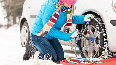 Eén op de zeven Nederlanders zonder sneeuwketting op wintersport}
