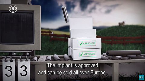 What does it take to get a medical implant onto the market? (English subs)