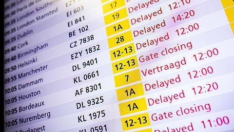 'Reizigers niet bekend met regels voor vergoeding bij geannuleerde vlucht'