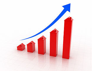 Huizenprijzen opnieuw gestegen