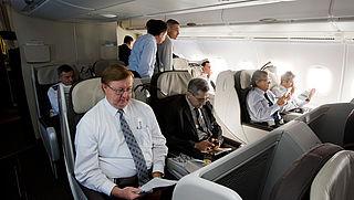 'Vijf procent van Nederlandse reizigers ziek van vliegtuiggas'