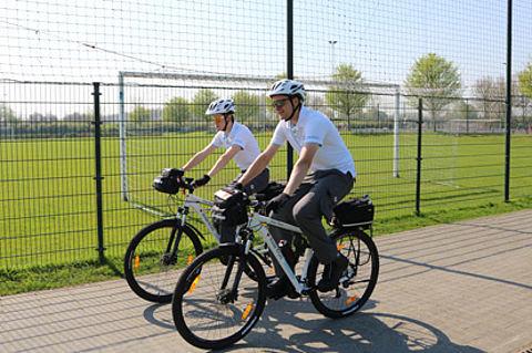 Rode Kruis zet meer EHBO'ers op de fiets in