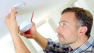 Waar in huis moet je rookmelders ophangen?