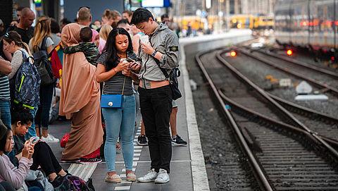 Maandagochtend geen treinen door staking