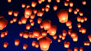Veiligheidsgevaar buitenlandse wensballonnen