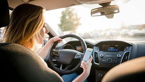 12 procent van automobilisten appt weleens
