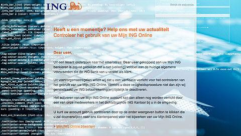 Pas op voor phishingmail van 'ING' over Algemene Voorwaarden}