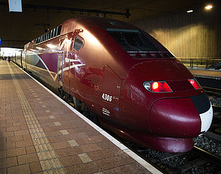 Reizigers Thalys eerst door scanner