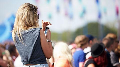 Festivalganger kan onbereikbaar worden door overbelast telefoonnetwerk