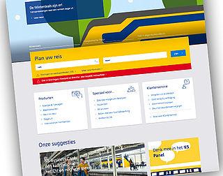 Nieuwe website NS leidt tot klachtenregen