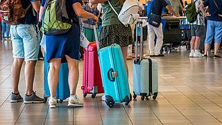 Vaker verloren koffers vliegtuigpassagiers in 2018