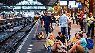 Drukte op het spoor stijgt sneller dan verwacht