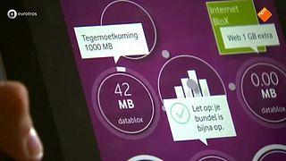 Dataverbruik Vodafone onverklaarbaar hoog