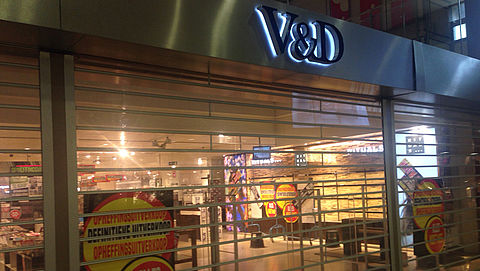 Vaste klant voelt schuld faillissement V&D}