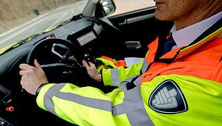 Weginspecteurs beboeten vaker voor wangedrag in verkeer