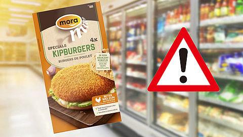 Terugroepactie Mora Kipburgers om allergeneninformatie