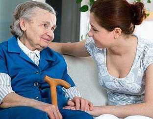 Mantelzorger van demente raakt overbelast