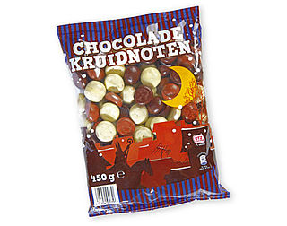 Chocoladekruidnoten van Aldi als beste getest